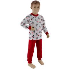 Dívčí pyžamo panda na bílé Esito Vel. 92 - 122