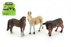 Zvířátka farma 12cm plast