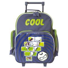 Školní batoh trolley Cool - Fotbal 3D míč
