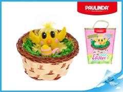 Paulinda Happy Easter kačátko s košíkem