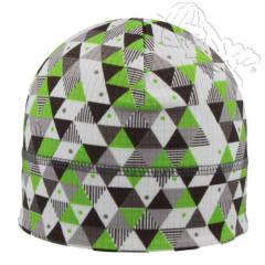 Funkční čepice trojúhelníky zelené RDX