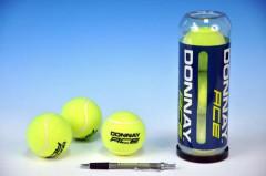 Tenisové míčky Donnay 3ks v tubě
