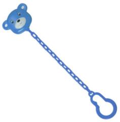 Držák šidítka - medvídek modrá Farlin