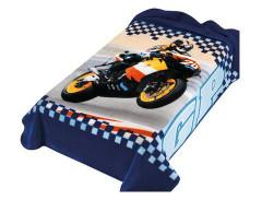 Španělská deka 222 - modrá, 160 x 220 cm
