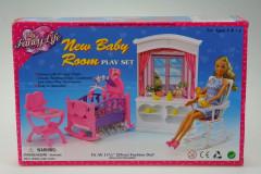 Glorie Dětský pokojíček - s oknem pro panenky