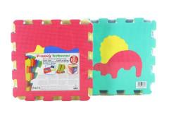 Pěnový koberec puzzle Dino