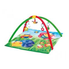 Hrací deka s hrazdičkou Happy Garden Canpol