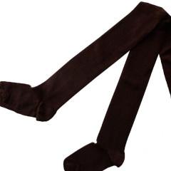Dětské punčocháče Design Socks vel. 1 (12 - 24 měs) HNĚDÉ