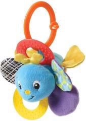 Infantino Chrastítko včelka se zrcátkem - modrá