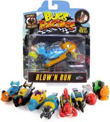 Bugs Racings  -  foukni a jeď se samolepkou a terčem
