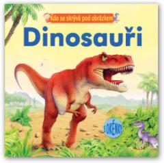 Kniha Kdo se skrývá pod obrázkem – Dinosauři
