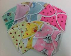 Dětské svrchní plenkové kalhotky na suchý zip froté Farlin