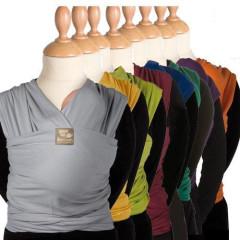TRICOT-SLEN šátek na nošení dětí COOL tkaný z unikátního funkčního vlákna z PET