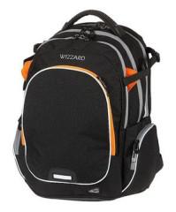 Studentský batoh WIZZARD Black, Walker