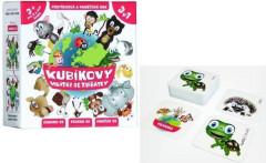Kubíkovy hrátky se zvířátky společenská hra v krabičce