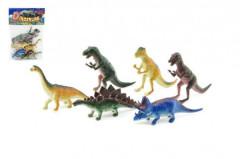 Dinosaurus plast 6ks v sáčku