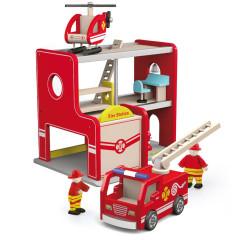 Dřevěná hasičská stanice Viga