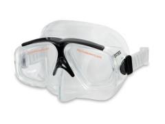 Maska sportovní plavecká, průhledné obroučky