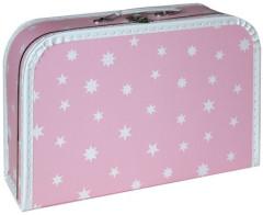 Kufřík - Bílé hvězdičky 35 cm