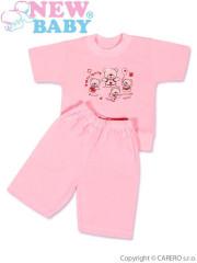 Dětské letní pyžamo New Baby růžové Vel. 116