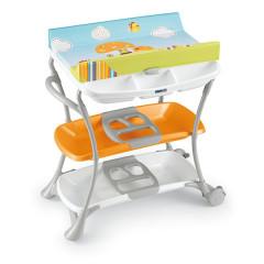 Přebalovací stůl CAM Nuvola 2015, Col.215 - oranžová muchomůrka