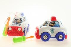 Šroubovací policejní auto