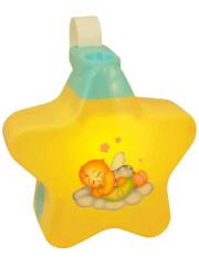 Hudební projektor Baby Mix yellow