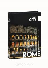 Box na sešity A4 Jumbo GEO CITY Rome