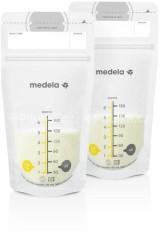 Sáčky na skladování mléka, 180 ml Medela