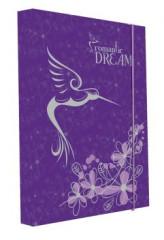 Desky na sešity Heft box A5 Junior Premium kolibřík