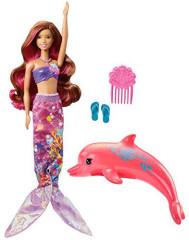 Mattel Barbie kamarádka Magický delfín FBD64