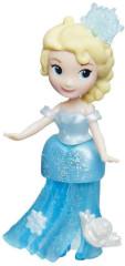Frozen malé panenky - Elsa v modrých šatech s vločkou