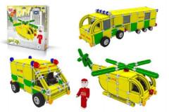 Stavebnice Seva Rescue 3 Záchranáři 537 ks