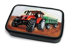 Školní pouzdro 2-patra plněné Traktor Emipo