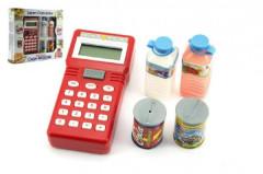 Ruční pokladna se skenerem + potraviny