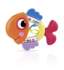 Nuby Chrastítko s kousátkem rybka