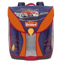 Školní batoh Scout - 3D hasičské auto