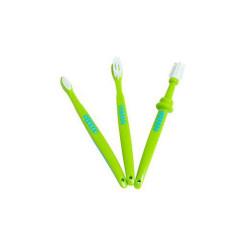 Sada 3 dětských zubních kartáčků Playgro