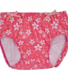 UV plavací kalhotky - RŮŽOVÉ KVĚTY