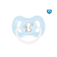 Šidítko silikonové symetrické Little Cutie Canpol Modré 0-6 m