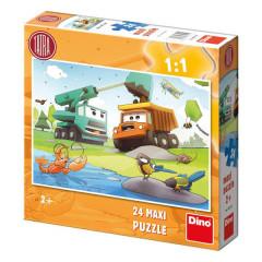 Puzzle MAXI Tatra 66x47cm 24dílků v krabici
