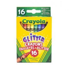 Třpytivé voskovky 16 ks Crayola