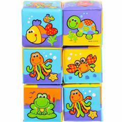Měkké pěnové kostky Playgro