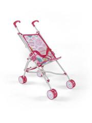 Dětský golfový kočárek pro panenky Milly Mally Julie růžovo-bílý