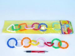 Řetěz na kočárek 8 ks