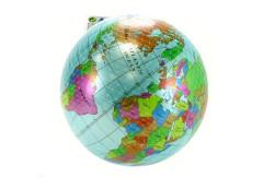 Míč globus 20 cm