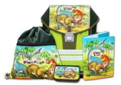 Školní aktovkový set ERGO ONE Dinopark 4-dílný Emipo