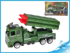 Vojenské vozidlo raketomet 18cm na setrvačník