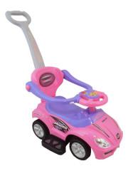 Dětské jezdítko 3v1 Bayo Mega Car pink
