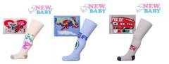 Bavlněné punčocháčky New Baby s protiskluzem ABS, Vel. 104